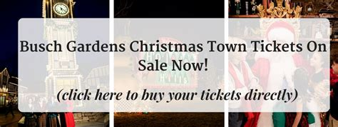 Town Busch Gardens Tickets buy your town tickets now lowest prices of the
