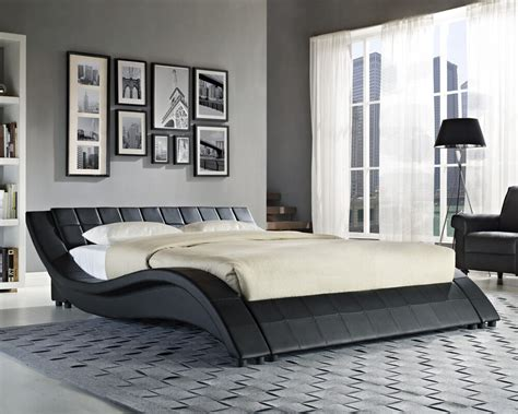Kingsize Beds by King Size Black White Bed Frame And With Memory
