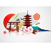 Japan Style Elements Vector Graphics 02  Other Free Download