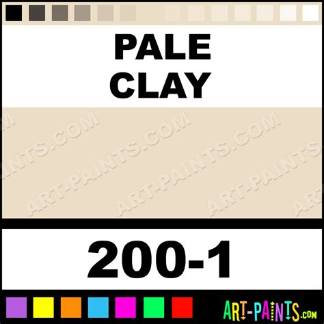 Pale Or Clay Colored After Detoxing pale clay ultra ceramic ceramic porcelain paints 200 1