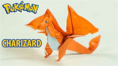 How To Make A Paper Charizard - origami charizard tutorial intermediate