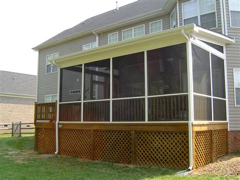 screened porch plans download lattice screen porch plans free