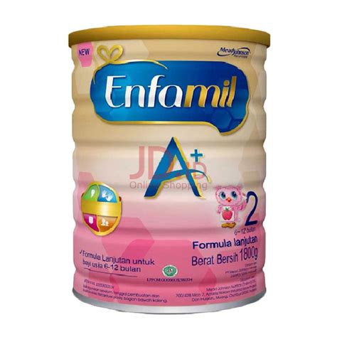 Bebelove 1 800gr Global by Jual Enfamil A 2 Formula Tin 1800 Gram Jd Id