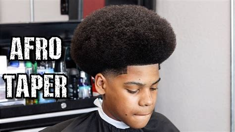 how to taper an afro taper fade with afro www pixshark com images galleries