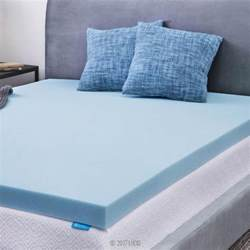 Home Design Memory Foam Mattress Pad by Lucid 3 In Twin Gel Memory Foam Mattress Pad Lu30tt30gt
