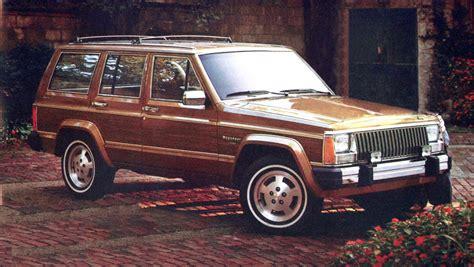 1984 Jeep Wagoneer Curbside Capsule 1984 91 Jeep Xj Wagoneer Limited