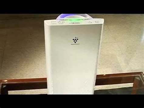sharp  introduced plasmacluster ion air purifiers youtube