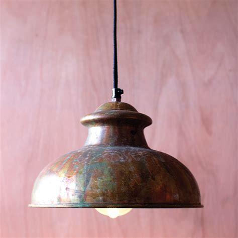 antique rustic pendant light