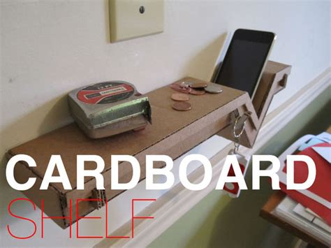 kerajinan tangan membuat rak mini dari kardus 10 ide kreatif membuat kerajinan tangan dari barang bekas