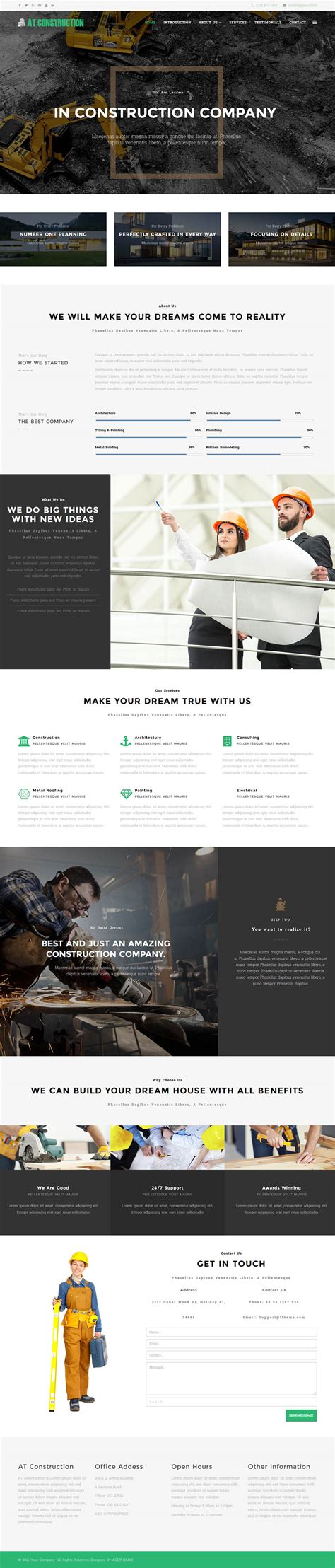 age themes joomla age themes construction onepage v2 0 0 landing page
