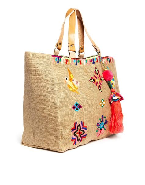 Embroidered Bag by Lyst Mela Zelma Embroidered Bag In