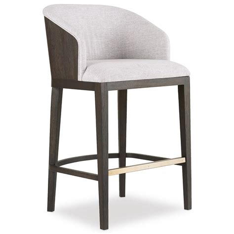Vaughan Bassett Bedroom Furniture by Hooker Furniture Curata Upholstered Bar Stool Knight