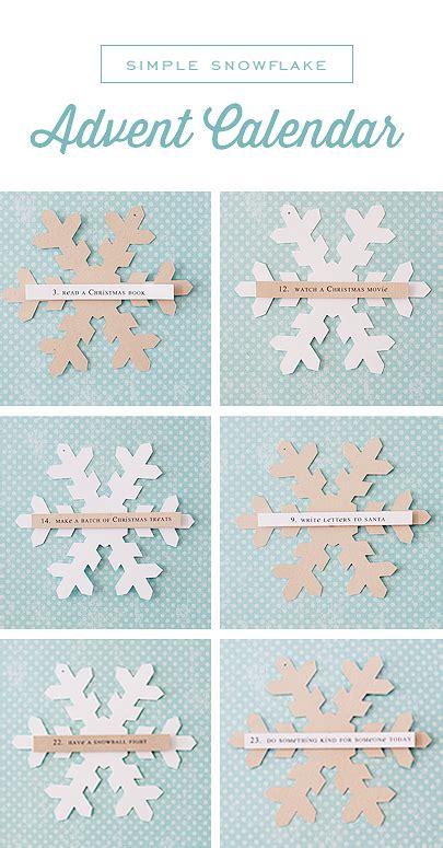 simple as that printable advent calendar simple snowflake advent calendar