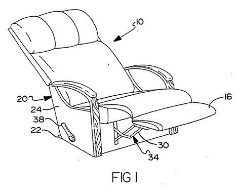reclining chair mechanism patent ep1534104b1 multiple position leg rest mechanism