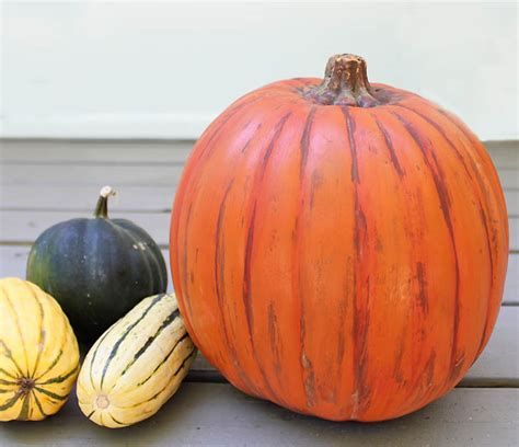 plastic pumpkins how to make plastic pumpkins look real michele
