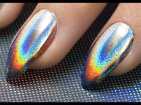 Holographic Nail Powder