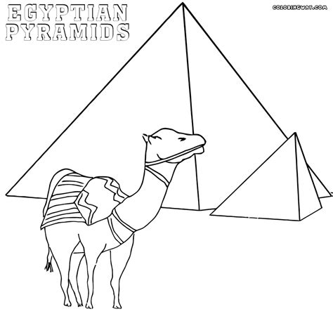 coloring pages egyptian pyramids egyptian pyramid coloring pages