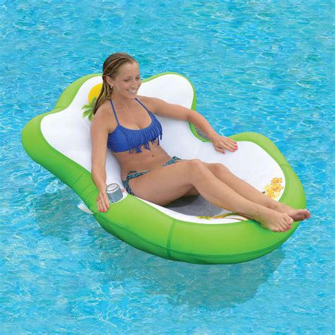 tropical tahiti floating island lounge oasis inflatable