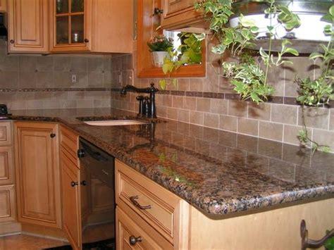 baltic brown backsplash baltic brown granite in kitchen photo
