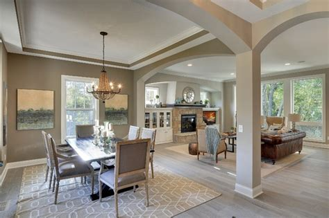 open floor plan kitchen and dining room open floor plan coyote song model fall parade 2014