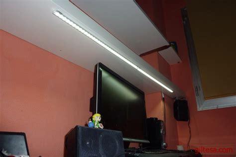 iluminacion escritorio iluminaci 243 n led para escritorio 2 tiras de leds con