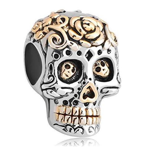 gifts new jewelry skull charms dia de los