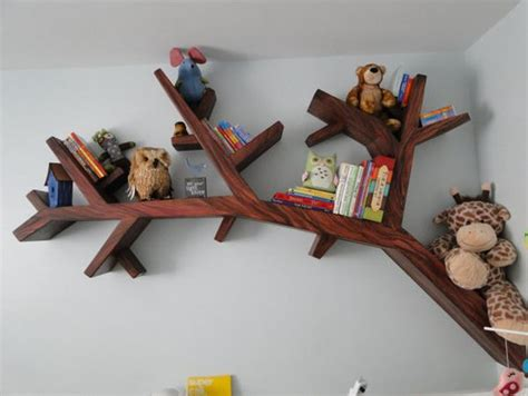 tree bookshelf ikea tree bookshelves that creatively display collections in style