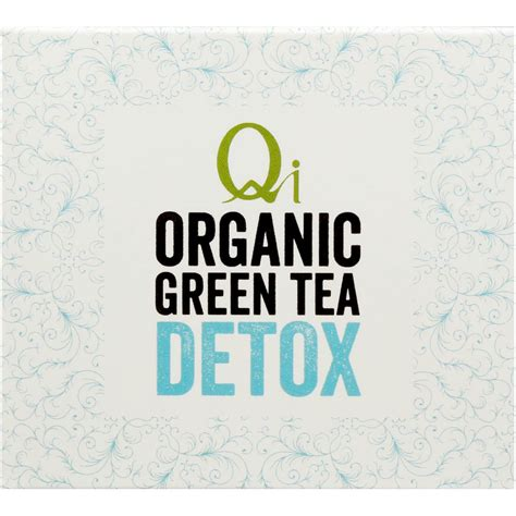 Qi Organic Green Tea Detox by Qi Wellness Organic Detox Green Tea Bags 25pk 40g Woolworths