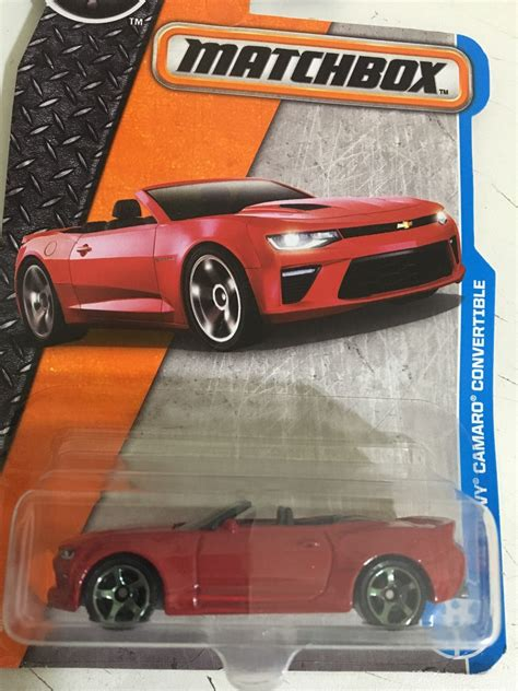 matchbox chevy camaro matchbox 2018 chevy camaro convertible r 25 00 em