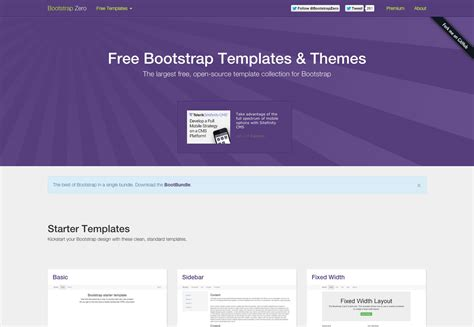 bootstrap themes free open source the ultimate guide to bootstrap webdesigner depot