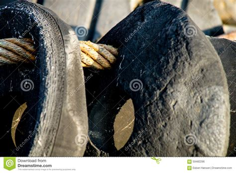 vintage boat fenders stock photo image 59482296 - Vintage Boat Fenders