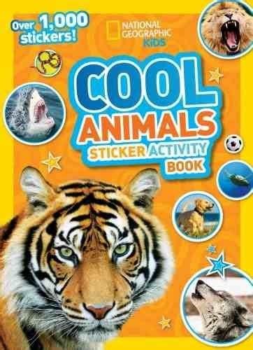 libro national geographic kids readers libro national geographic kids cool animals sticker activity 430 00 en mercado libre