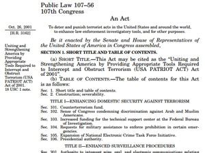 section 215 of the usa patriot act blog personal privacy in a data driven world wed apr