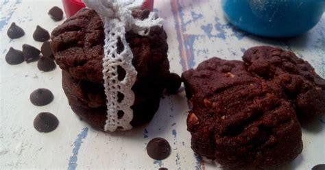 Kue Kacang Dewi resep kukis cokelat kacang oleh amalia yugi utami dewi