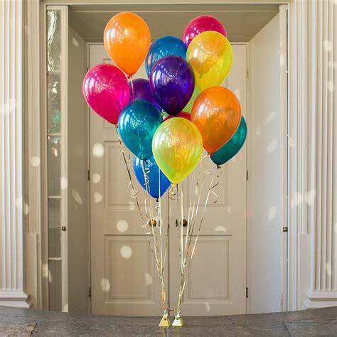 Balon Metalik I You Cinta pack of 14 rainbow balloons wedding