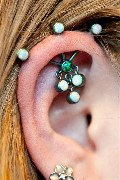 best 25 three ear piercings ideas on ear