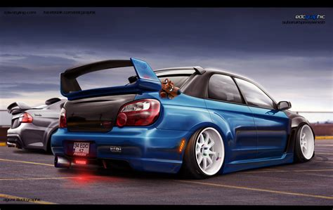stanced subaru wallpaper stanced wrx wallpaper wallpapersafari