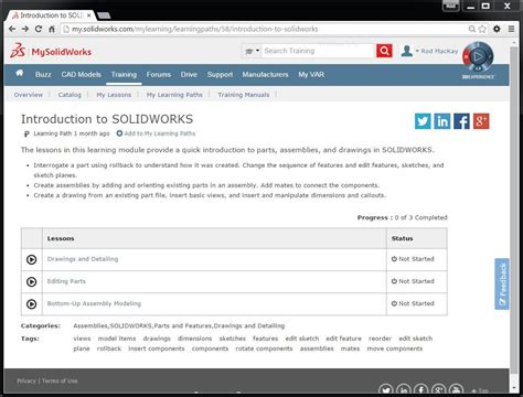 tutorial online solidworks free introduction to solidworks tutorial