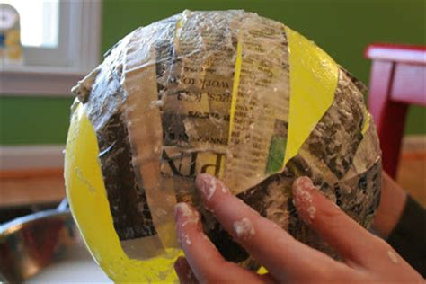How To Make A Paper Mache Planet - paper mache planets pics about space