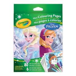 frozen coloring pages crayola mini colouring pages frozen crayola ca