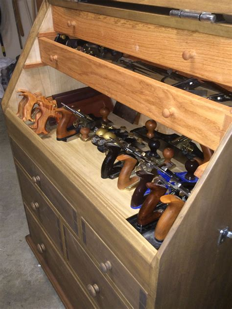 woodworkers tool chest the slant lid tool chest popular woodworking magazine
