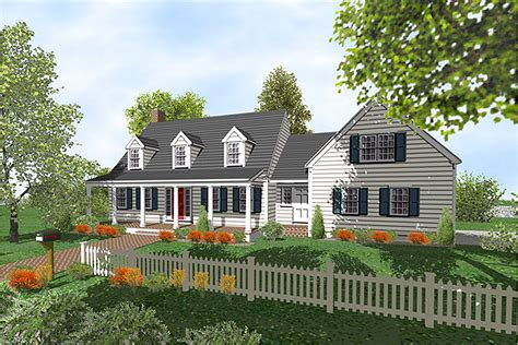 cape cod design customizable comforting house plan 9556dm 2nd floor