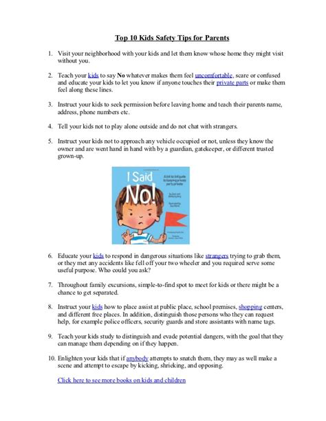 10 Safety Tips To Follow In Your Home by Top 10 Safety Tips For Parents