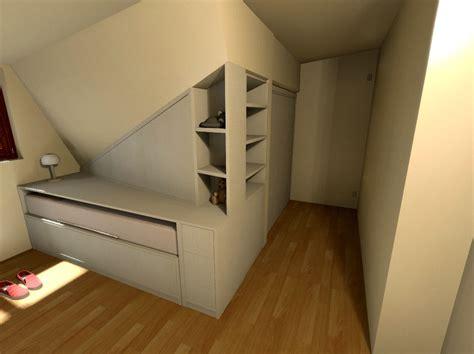 mobili per mansarda armadi per mansarde su misura tutto in vero legno da