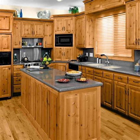 wood kitchen furniture 23 remarkable unfinished pine cabinets for your kitchen