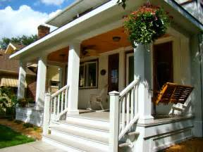 Wooden Handrails For Outdoor Steps A New Front Porch Traditional Porch Minneapolis By