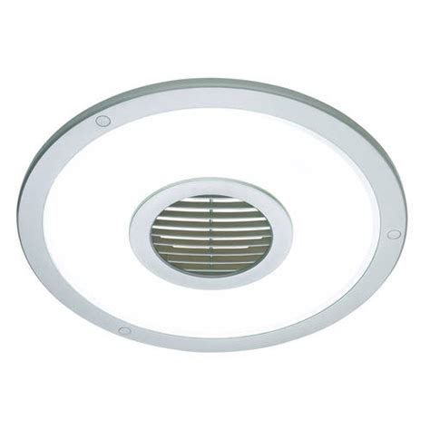 round bathroom fan silver heller round 250mm ceiling light exhaust fan air
