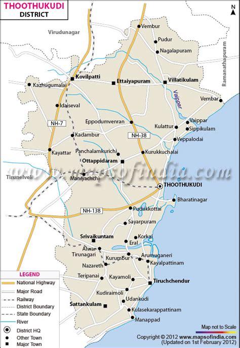 thoothukudi district map