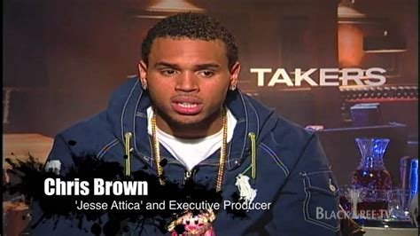 michael ealy takers chris brown and michael ealy on takers exclusive