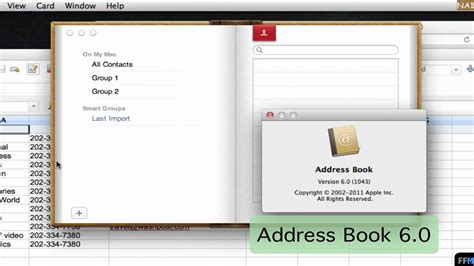 csv format address book create csv file for address book free new app 1 youtube